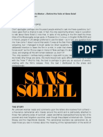Chris Marker - Letter to Theresa (Behind the Veils of Sans Soleil)