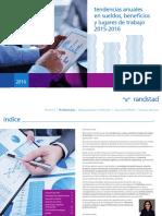 Tendencias en Sueldos, Beneficios y Lugares de Trabajo 2016
