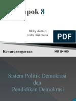 Presentasi DEMOKRASI