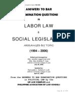 Labor Law QnA 1994-2006