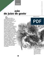 Da educação do juízo de gosto.pdf