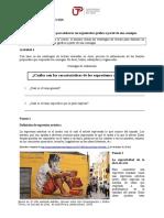 1A-XCC2 Estrategia de Lectura Para Elaborar Un Organizador Gráfico a Partir de Una Consigna (2017-1)