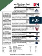 4.9.17 Minor League Report