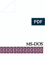 Microsoft Ms-dos 1.25 [Cdp Oem r2.11]