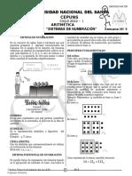 Semana 03 Aritmética Cepuns 2012-i Numeración i