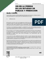 Martinez - La Difusion en La Prensa de Los Resultados