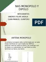 Presentacion Antenas Monopolo y Dipolo