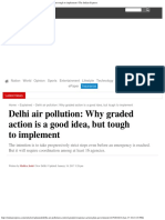 Delhi Air Pollution_ Why Graded Action is a Good Idea, But Tough to Implement _ the Indian Express