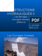 05 Constructions Hydrauliques II - Ouvrages Annexes