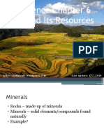 Science F3 Chap 6 Land and It's Resources