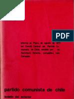 Boletín del Exterior Partido Comunista de Chile Nº26