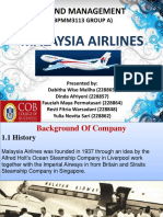 Malaysia Airlines (Brand Management)