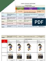 Plan de Ejercicio y Nutricion