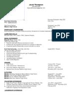 potential resume