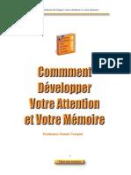 Comment developper attention et  mémoire.pdf