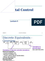 Digital Control Lecture 3