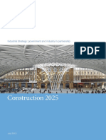 Construction 2025 - The HM Industrial Strategy - 2013