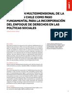 La Medición Multidimensional de La Pobreza en Chile