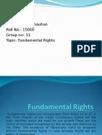 Fundamental Rights- Rahul Chauhan