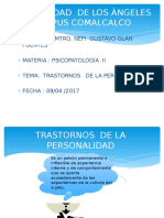 grupo de trastornos  de  la personalidad.pptx