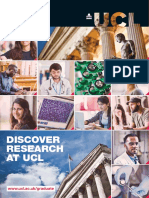 Discover Research at Ucl Leaflet