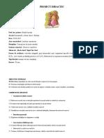 Proiect  de lectie CLR
