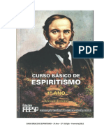 Curso Basico de Espiritismo - Primeiro Ano - 37 Edicao (FEESP)