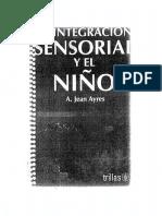 La Integración sensorial y el niño
