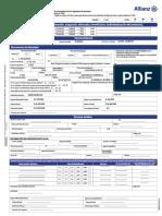 2017 Nuevo Formato de Pago Allianz