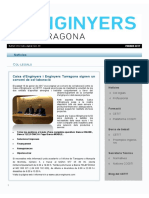 Butlletí Digital Informatiu Enginyers Tarragona, Núm. 3 Febrer 2017