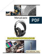 Manual para Radioaficionados (TI2DLL)