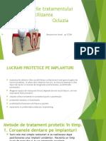Lucrari Protetice Pe Implanturi Benyaminov Israel Tema 4