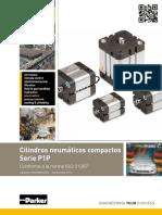 Cilindros Neumáticos Compactos Serie p1p Catálogo Pde2660tces