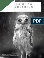 owls know catalog