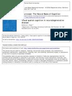 Visual Spatial Cognition in Neurodegenerative Disease (2010)