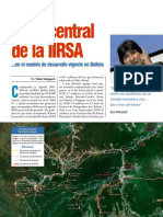 El Rol Central de La IIRSA en El Modelo Vigente en Bolivia