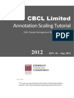 CBCL CAD Standards - Annotation Scaling Tutorial