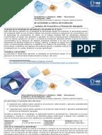 Guía de Actividades y Rúbrica de Evaluación - Fase 3. Aplicar Modelos de Pronósticos y Planeación Agregada