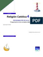 Enseñanza religiosa plan anual EDEBÉ 4° grado