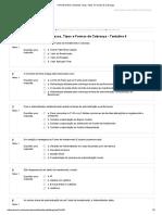 2.9 Simulado Taxas, Tipos e Formas de Cobrança