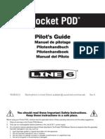 Line6 Pocket Pod user manual (rev a) - English