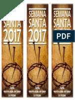 Diptico - Semana Santa 2017-2
