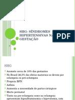 Aula 6 SHG- Síndromes Hipertensivas Na Gestação