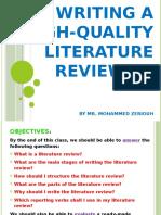 Lit Review