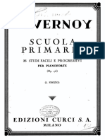 -Duvernoy - Scuola Primaria 25 Studi Facili e Progressivi Per Pianoforte Op.176 Curci 1944