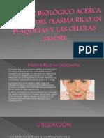 Plasma Rico en Plaquetas y Celulas Madre