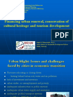 Financing Urban Renewal, Conservation Heritage