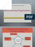 14 - Restructuring Organizations
