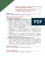 Fichas Resumen Politicas Sector Huanuco