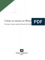 Antiseri Dario - Como Se Razona En Filosofia.pdf